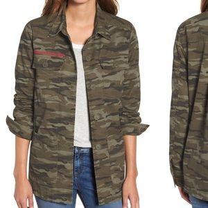 NWT Caslon Camo Utility jacket
